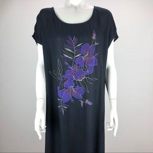 Carole Little Maxi Full Length Rayon Dress - 14